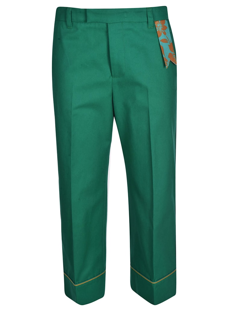 The Gigi Irma Trousers - Emerald