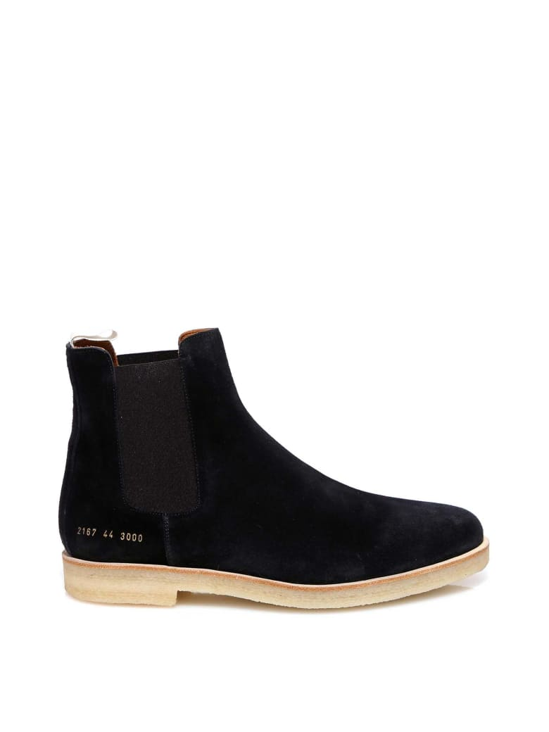 Common Projects Chelsea Boots - Black