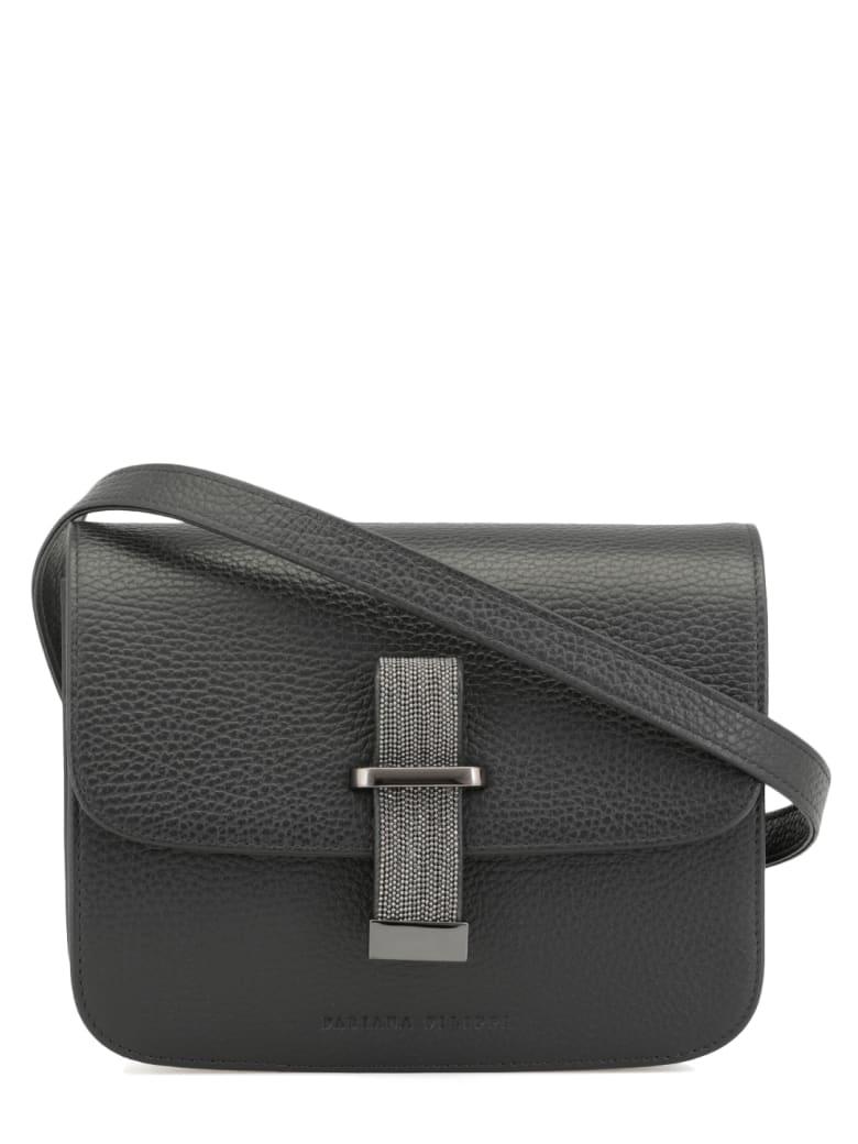 Fabiana Filippi Leather Melania Bag - BLACK