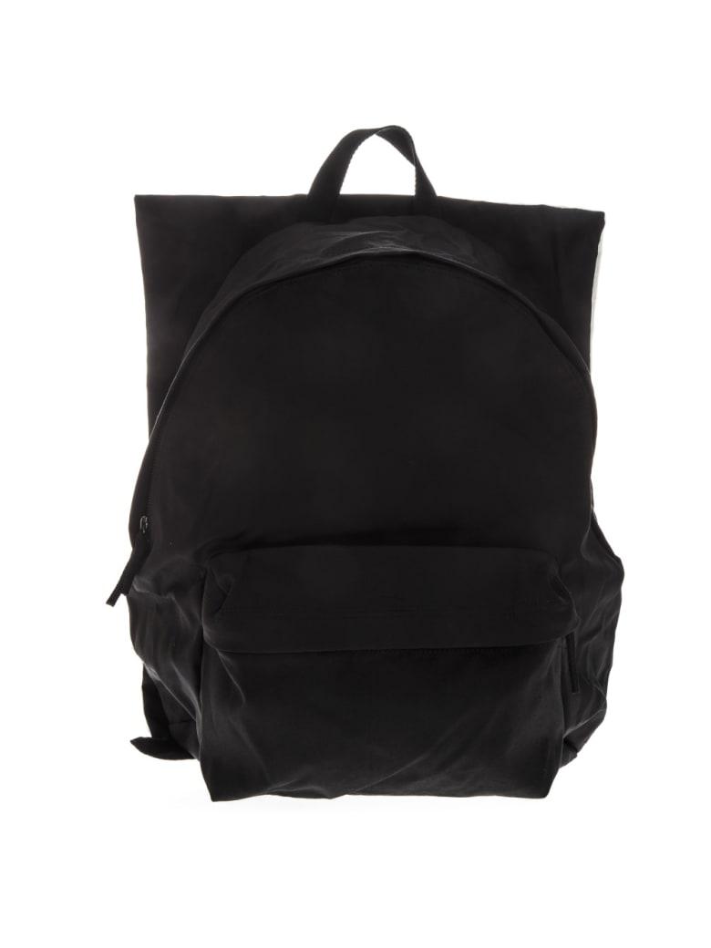 Eastpak Black Poster Backpack By Raf Simons - Black