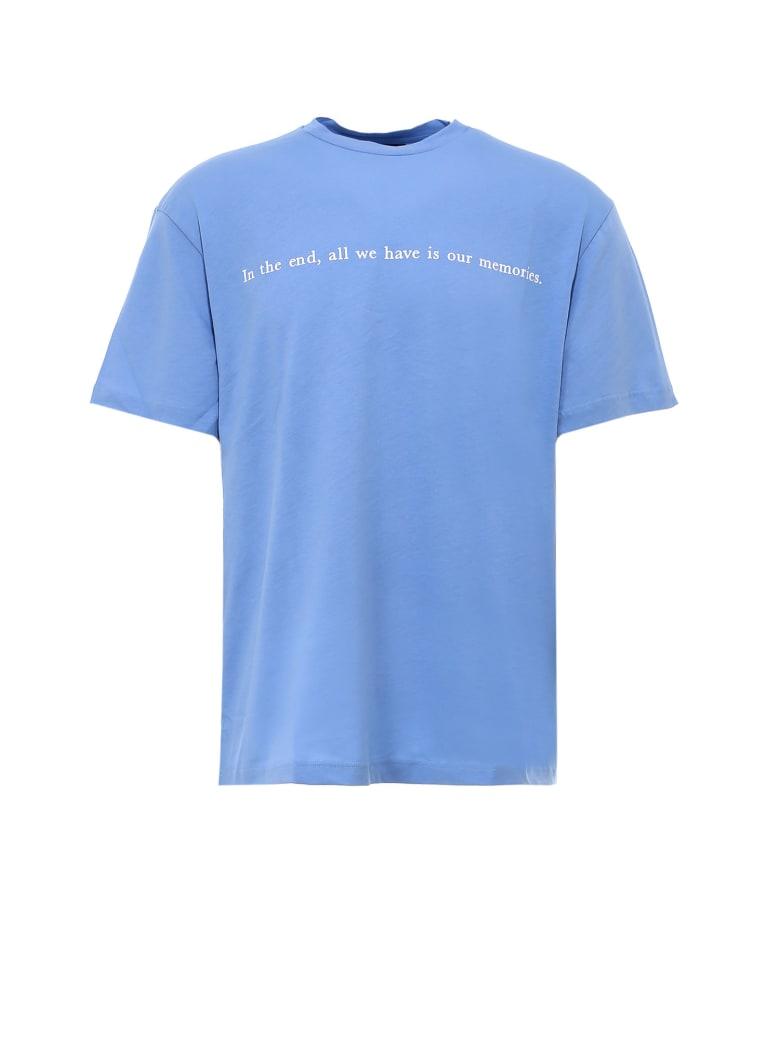 Throwback Tbt Memories T-shirt - Blue