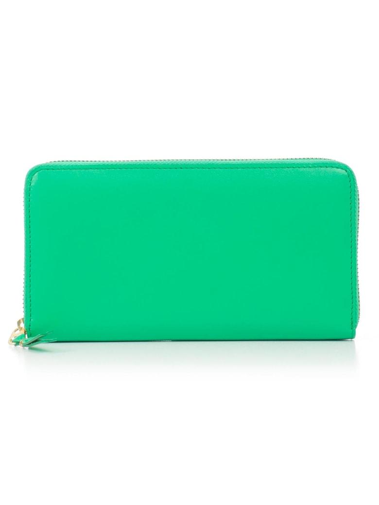 Comme des Garçons Wallet Wallet Classic Leather Line A - Green