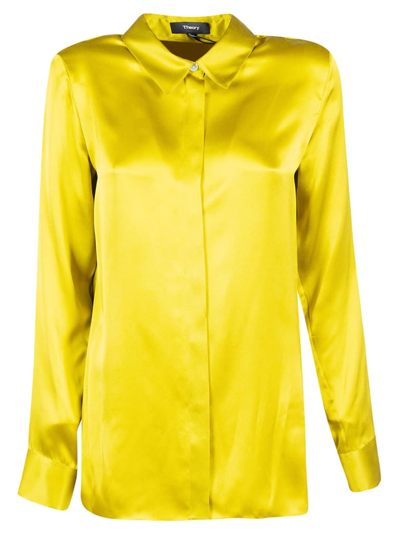 Theory Classic Straight Shirt - Citron