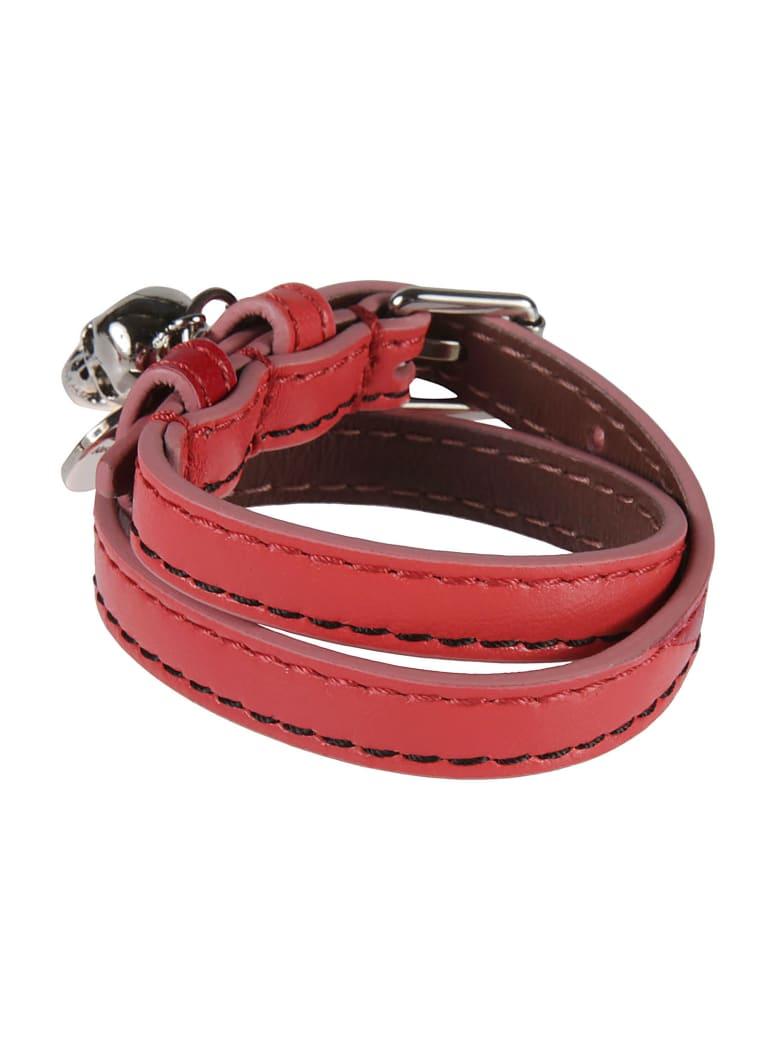 Alexander McQueen Double-wrap Bracelet - Rosso