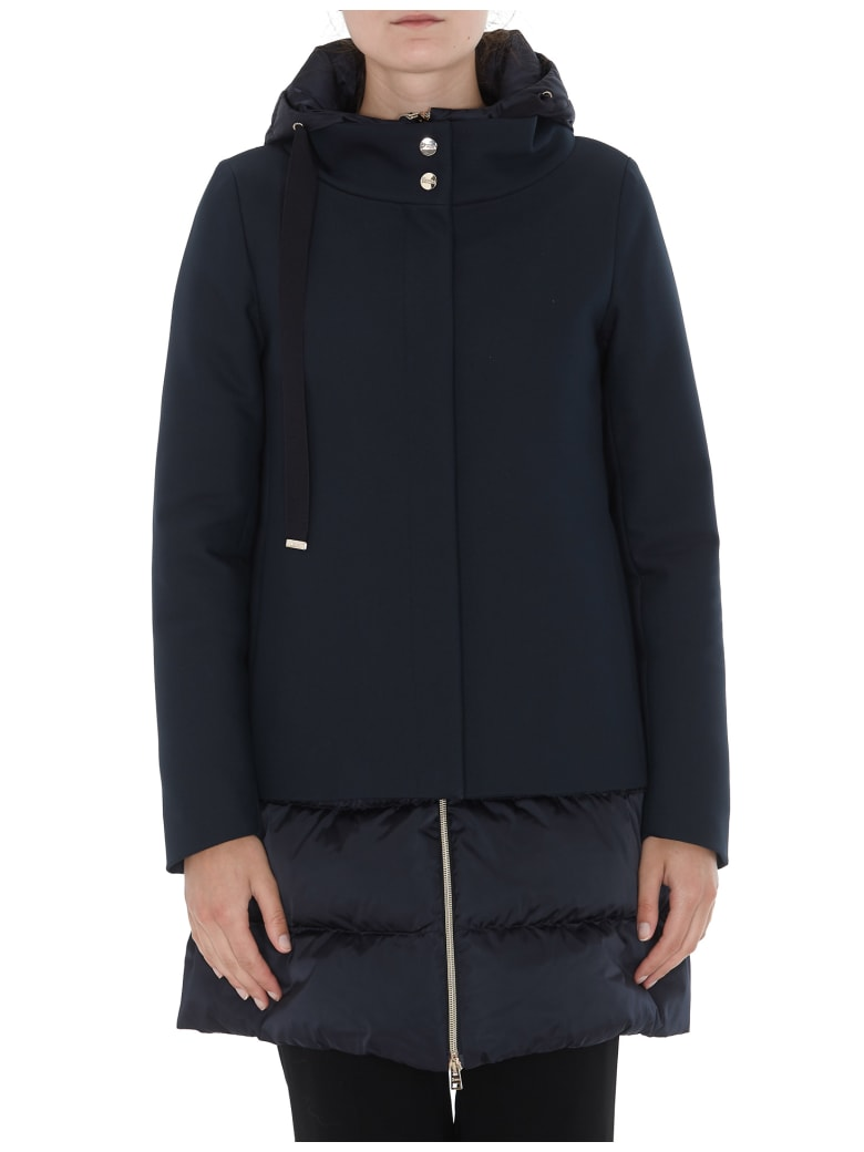 Herno Down Jacket - Blue