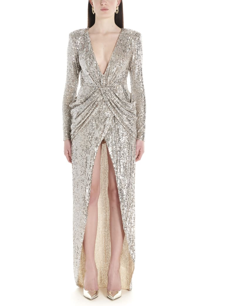 Nervi 'ada' Dress - Silver