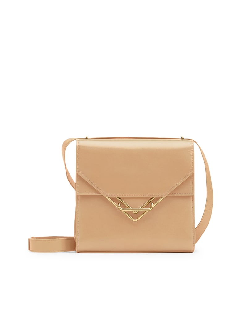Bottega Veneta Bag Box Calf - Almond Gold