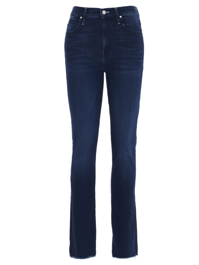 Mother 'the Rascal Ankle Snippet' Jeans - Blue