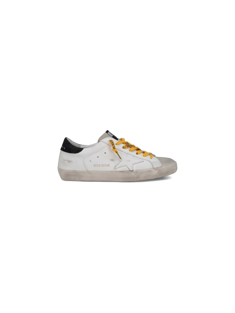 Golden Goose Superstar Sneakers - White/ice/black