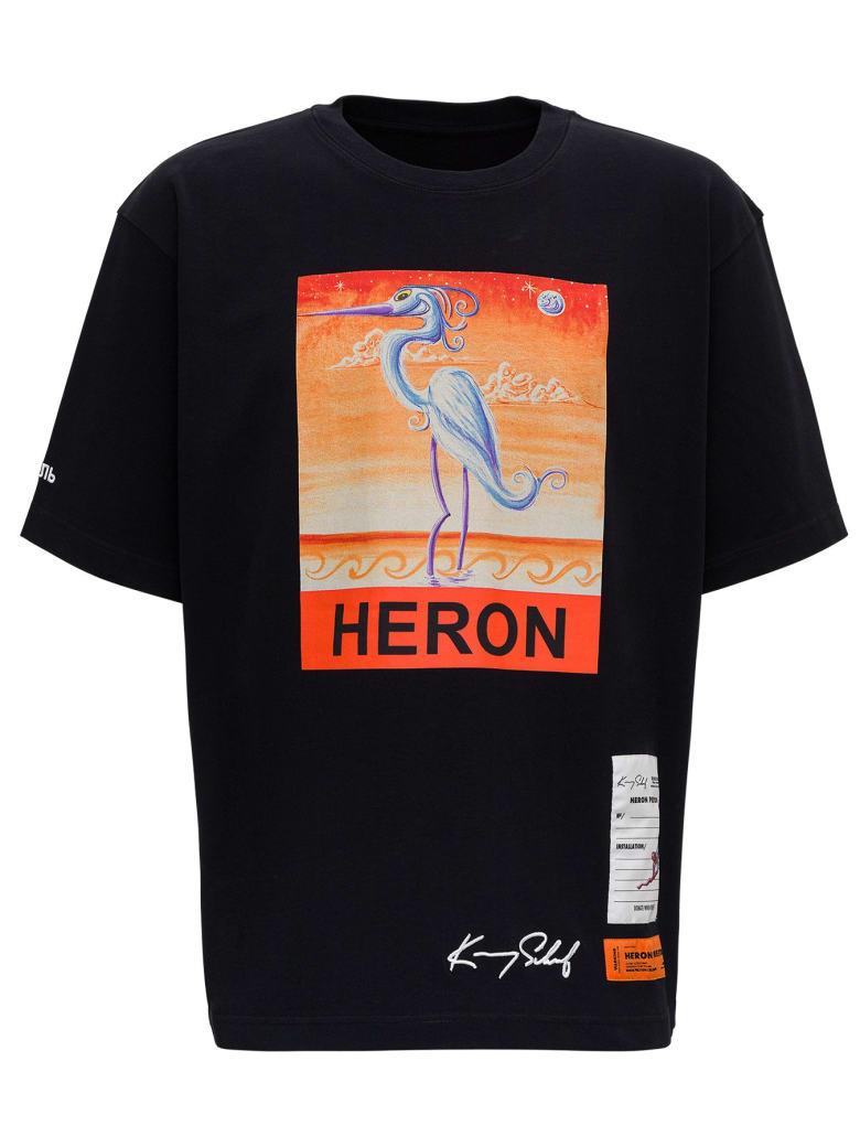 HERON PRESTON T-shirt Heron - Nero