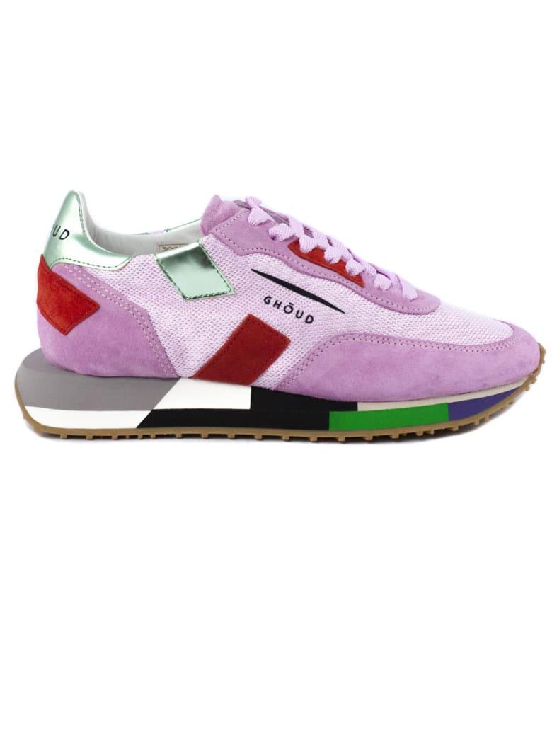 GHOUD Sneaker In Pink Suede - Rosa