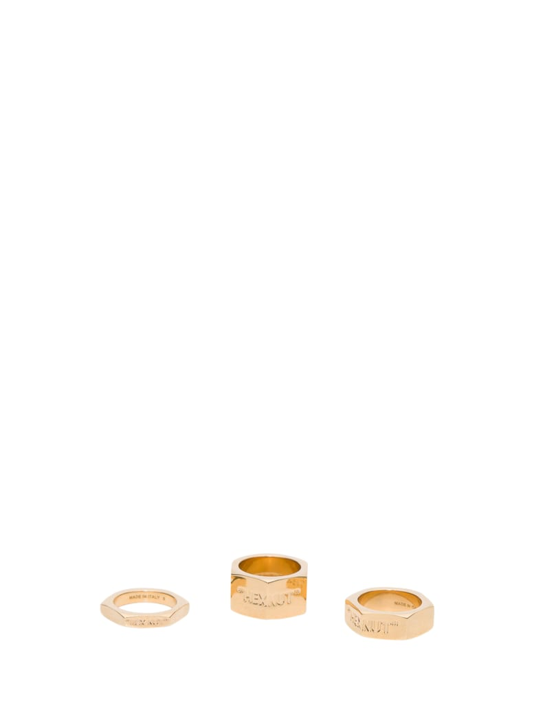 Off-White Bolt Ring - Oro