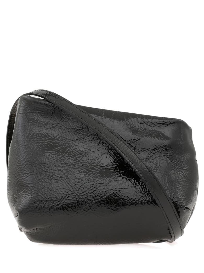 Marsell Leather Clutch - BLACK