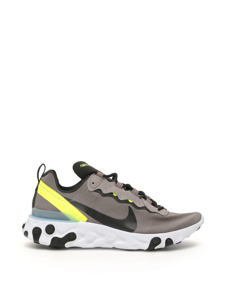 Nike React Element 55 Sneakers - PUMICE BLACK WHITE BLUE CHILL (Brown)