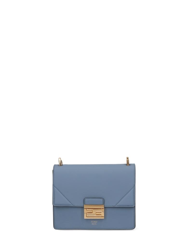 Fendi Kan U Small Crossbody Bag - Blue