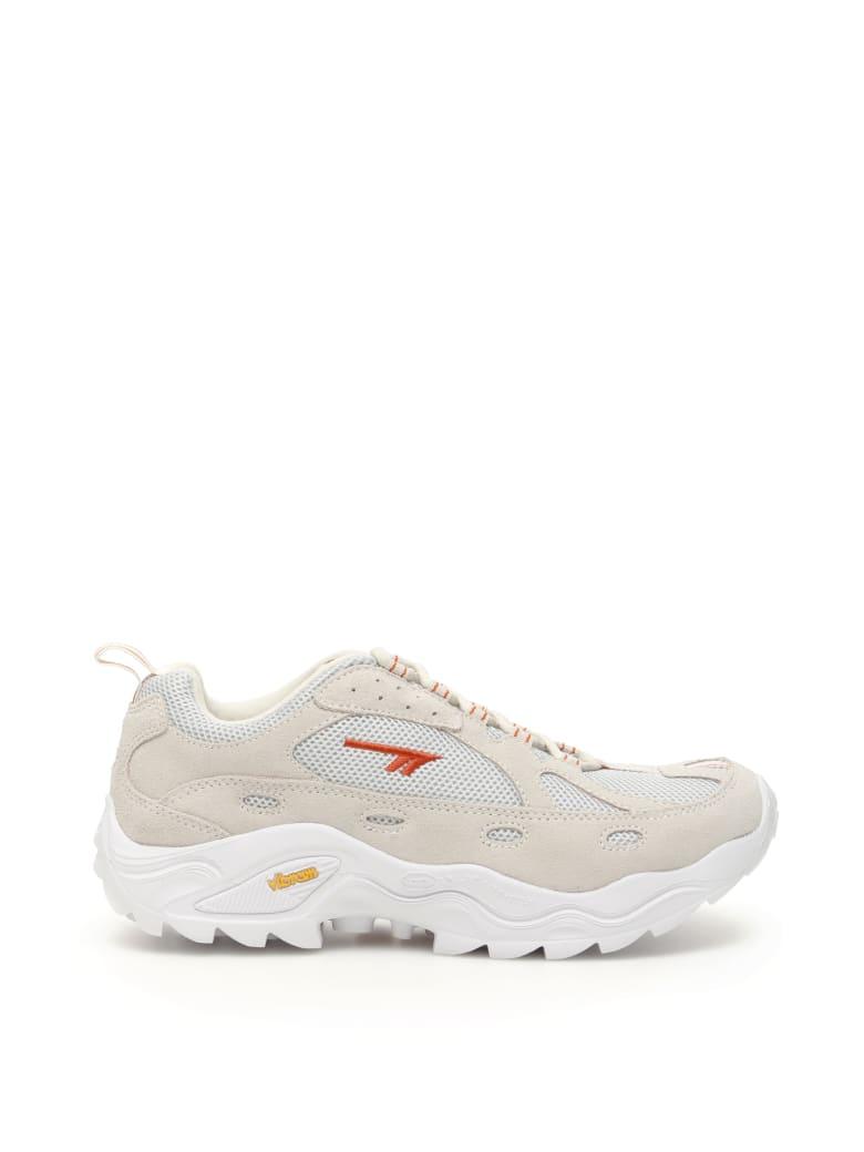 Hi-Tec Unisex Hts Flash Adv Racer Sneakers - OFF WHITE ORANGE (Beige)