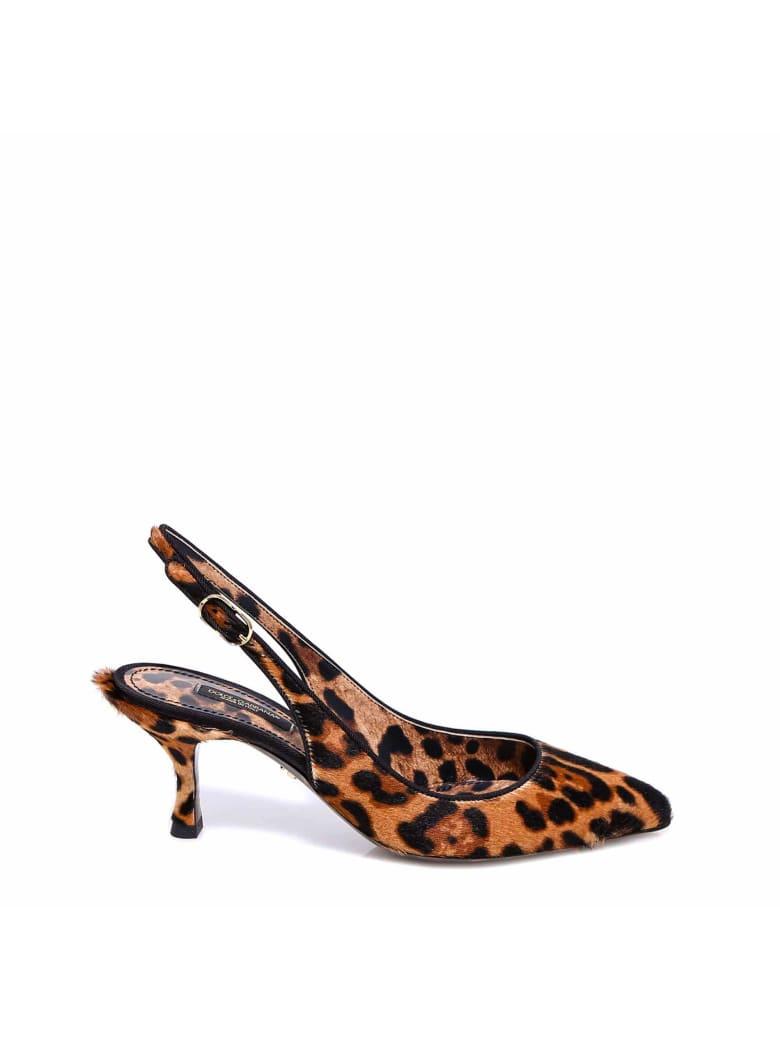 Dolce & Gabbana Slingback - Brown