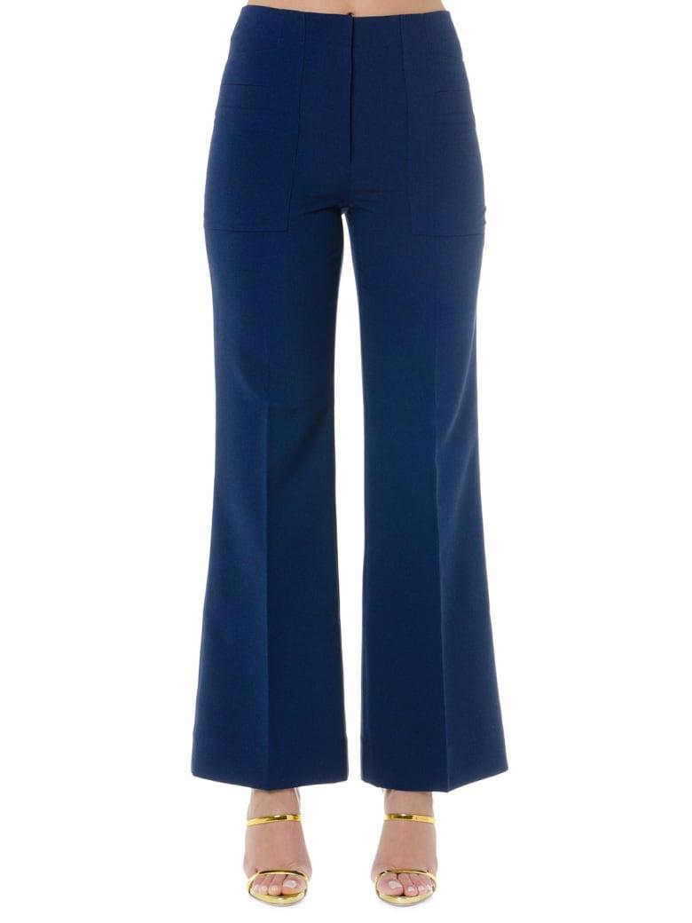 Acne Studios Blue Cropped Pants - Blue
