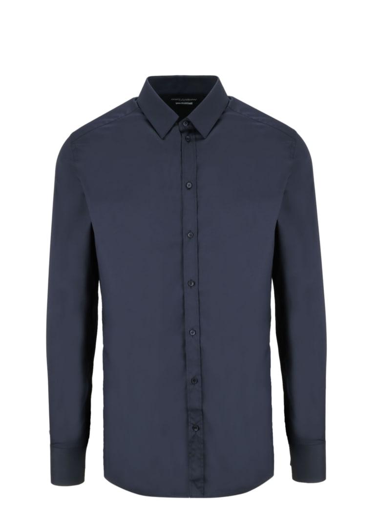 Dolce & Gabbana Stretch Shirt - Blue