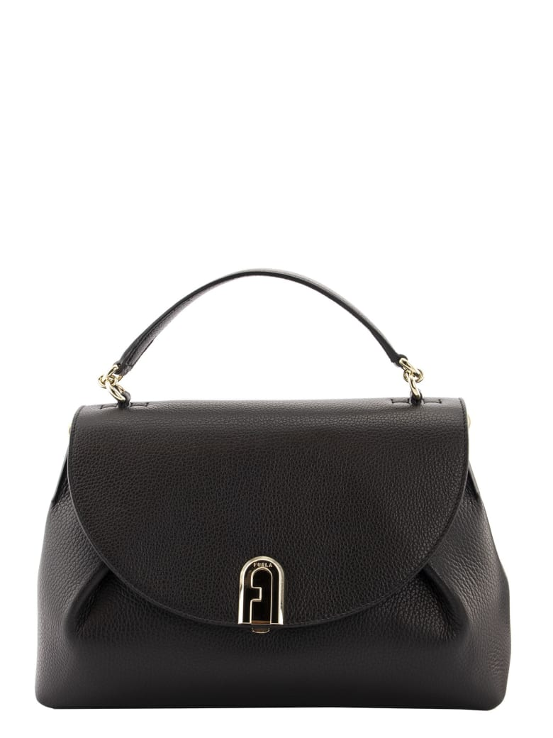 Furla Furla Sleek Top Handle M - Black