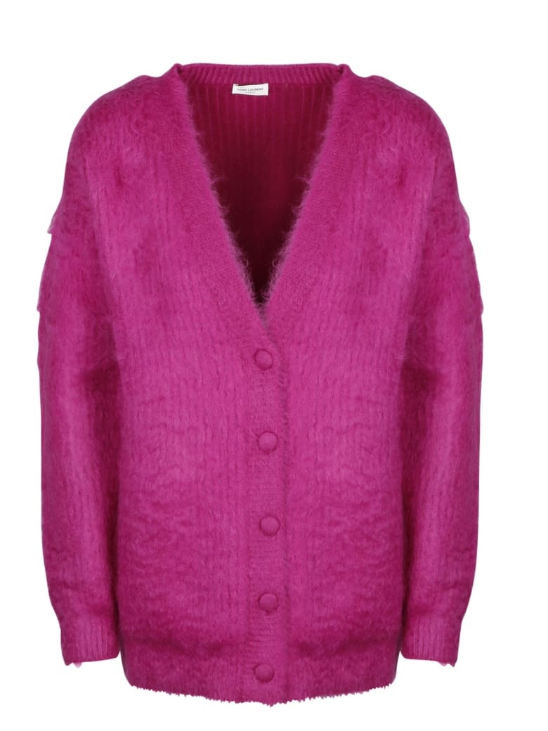 Saint Laurent Gilet Surf - Pink & Purple