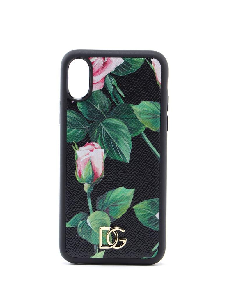 Dolce & Gabbana Phone Cover - C Rosa Fdo Nero