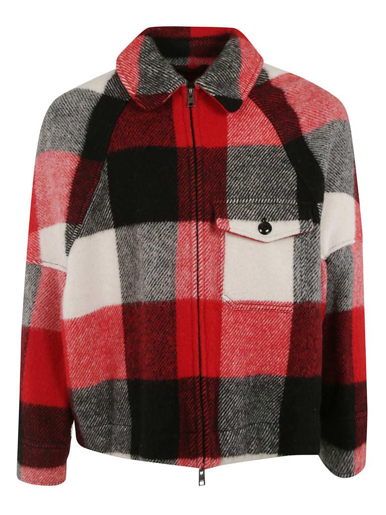 Woolrich Buffalo Jacket - Cream/red