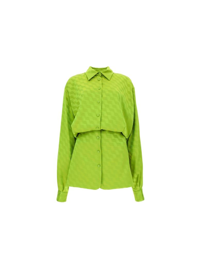 The Attico Shirt Dress - Verde pistacchio