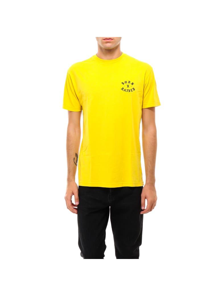 BornxRaised T-shirt - Yellow
