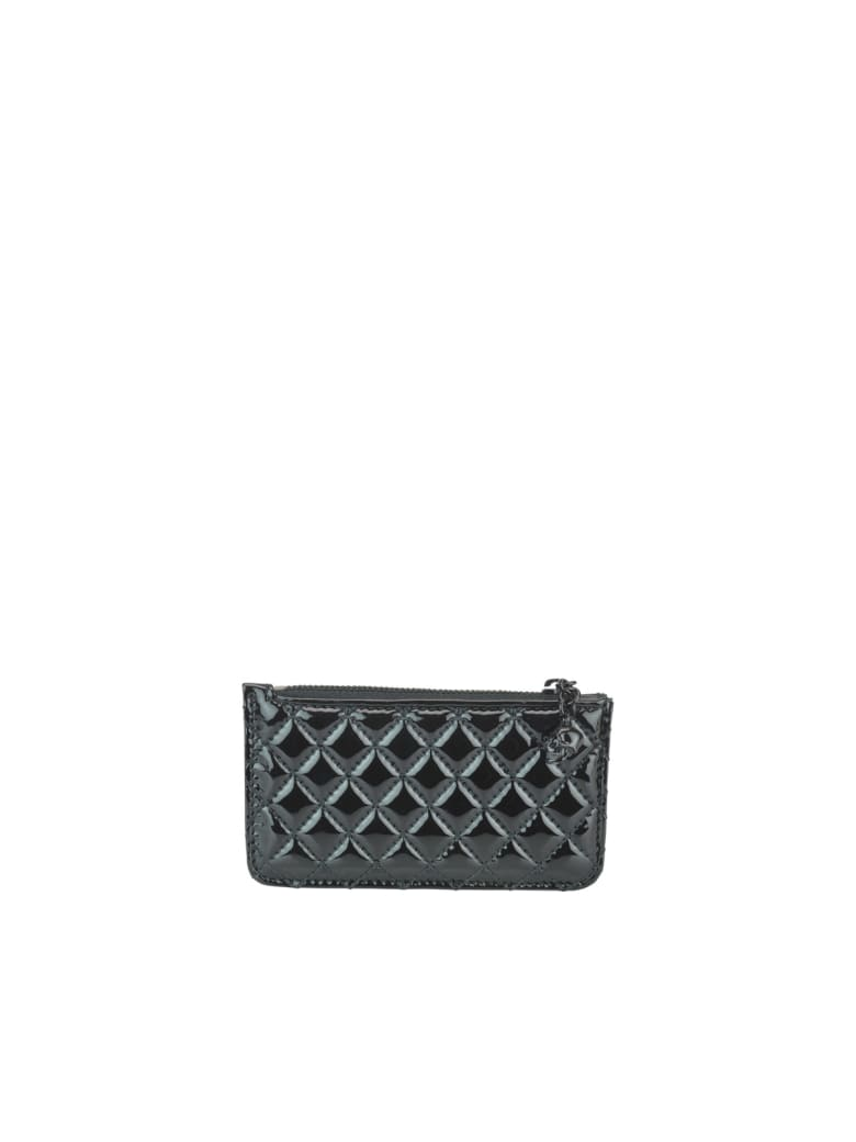 Alexander McQueen Skull Coin Purse - Black