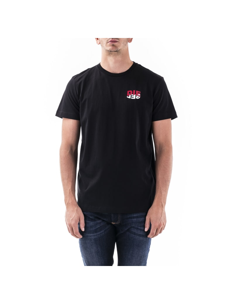 Diesel Cotton T-shirt - Black
