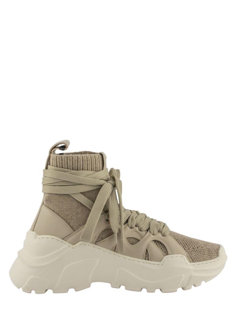 Agnona 2.28 Cashmere Sneakers - Cream