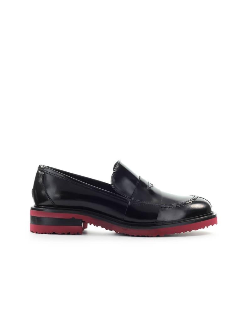Roberto Festa Barrow Black Leather Loafer - Nero