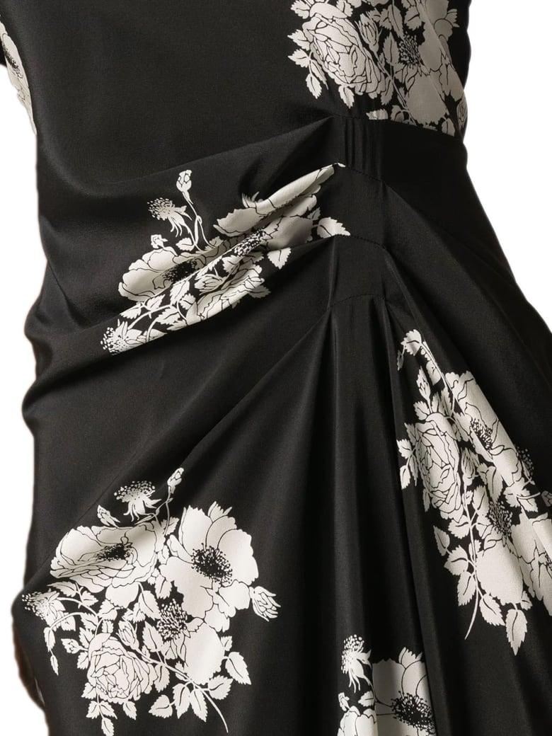 N.21 Black Silk Blend Dress - Fantasia