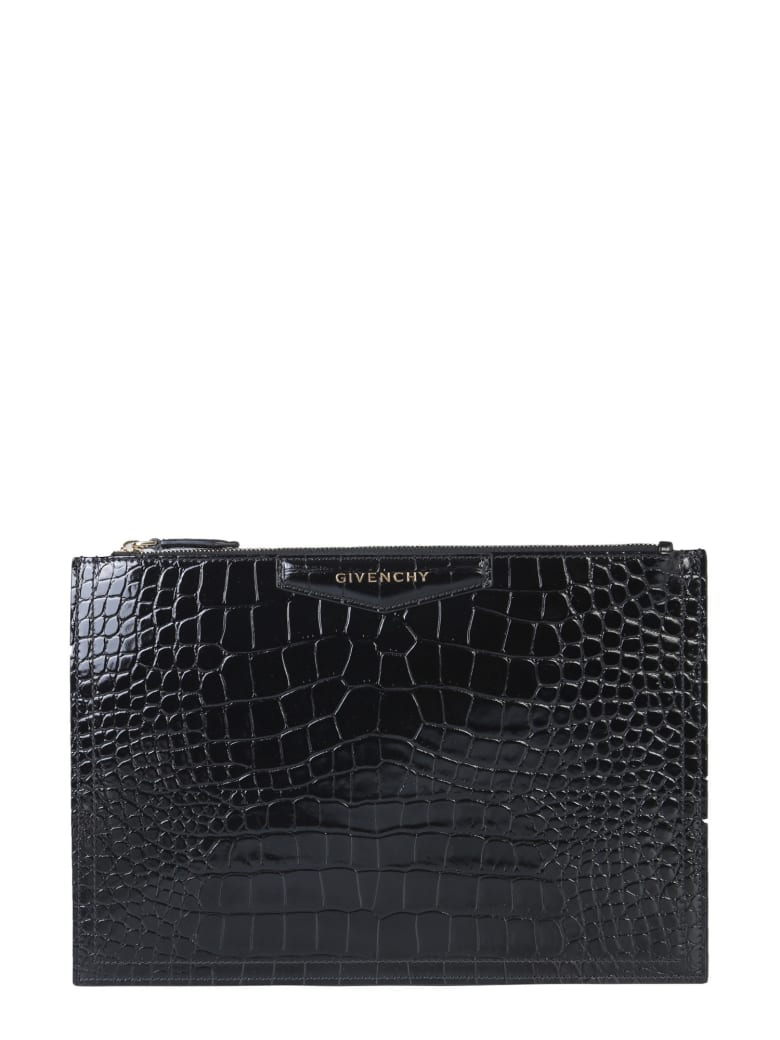 Givenchy Antigona Clutch - NERO