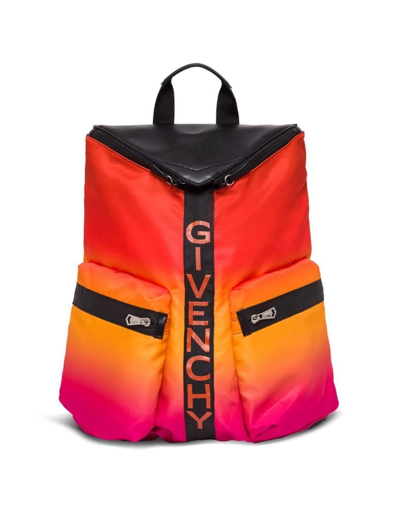 Givenchy Nylon Spectre Backpack - Orange