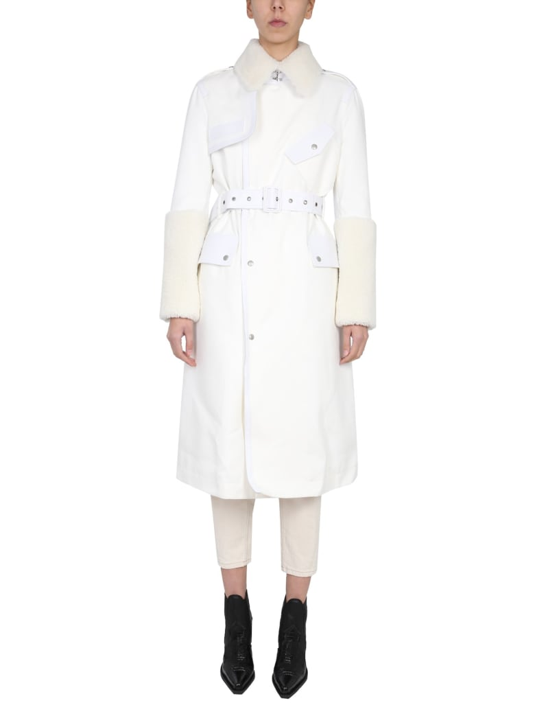 Mr & Mrs Italy Elizabeth Sulcer Capsules Trench - BIANCO