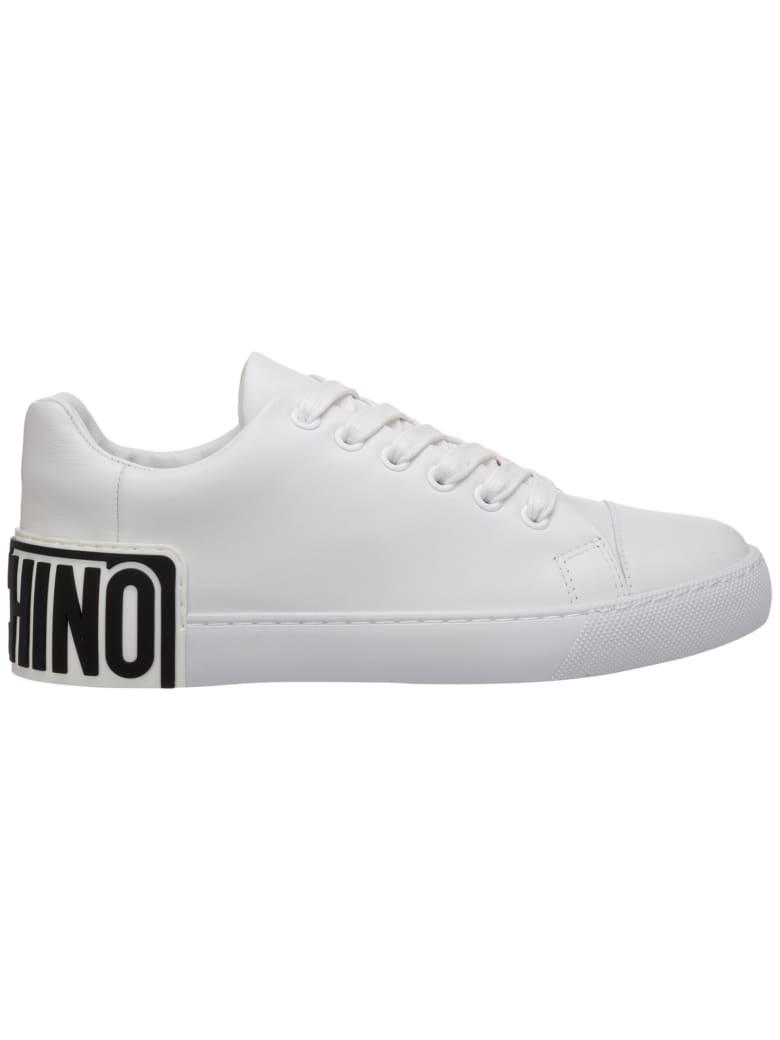 Moschino Ego Sneakers - Bianco