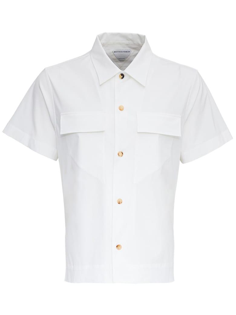 Bottega Veneta Cotton Poplin Shirt - White