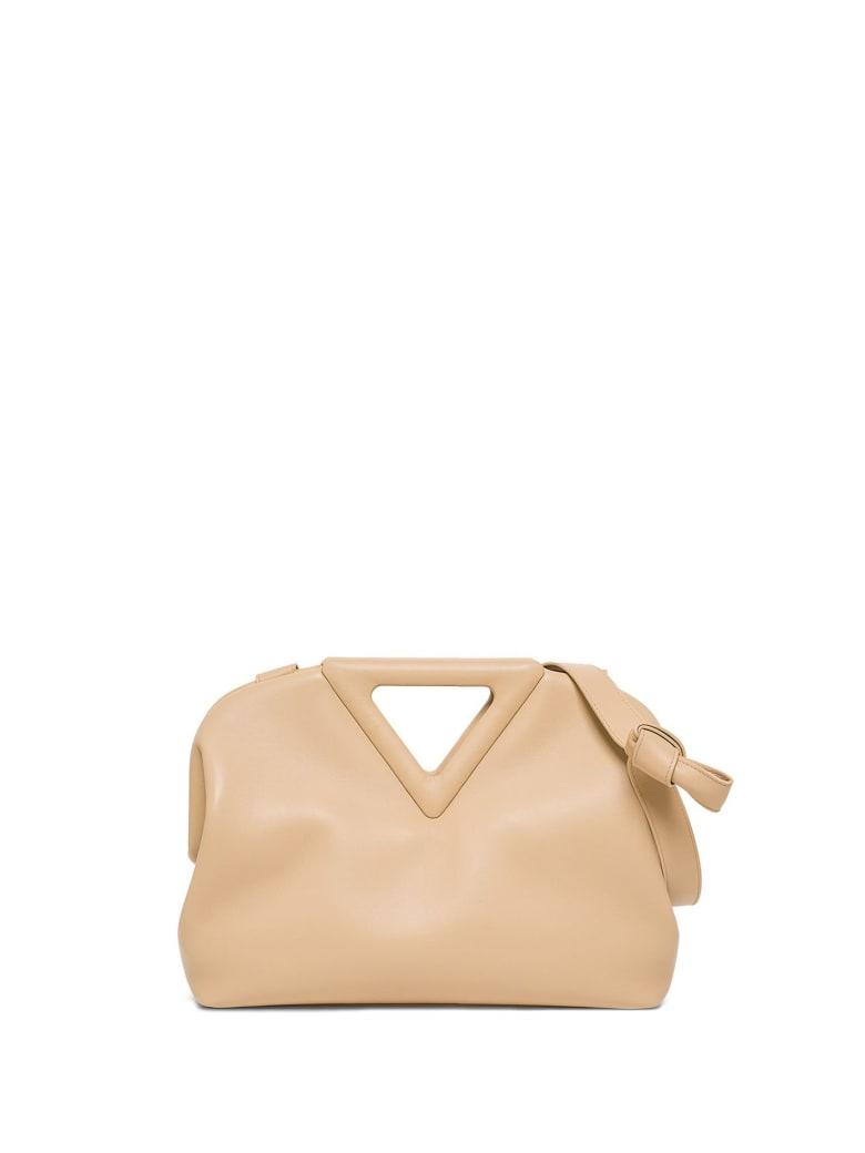 Bottega Veneta Bottega Veneta The Triangle Shoulder Bag - ALMOND