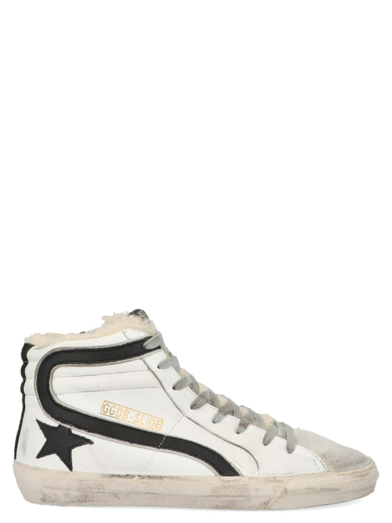 Golden Goose 'slide' Shoes - Black&White