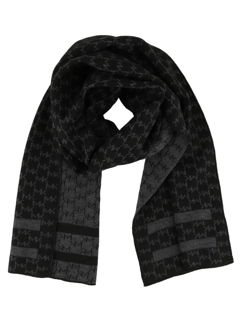 Michael Kors Interrupted Logo Scarf - Black