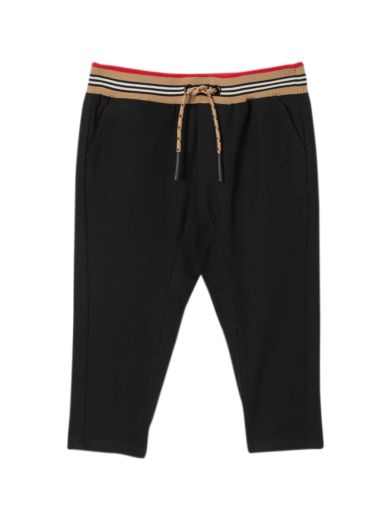 Burberry Black Trousers - Nero