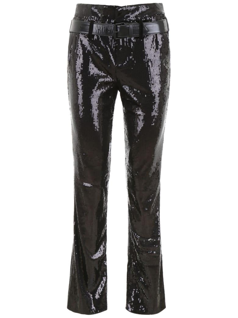 RTA Sequins Trousers - BLACK (Black)