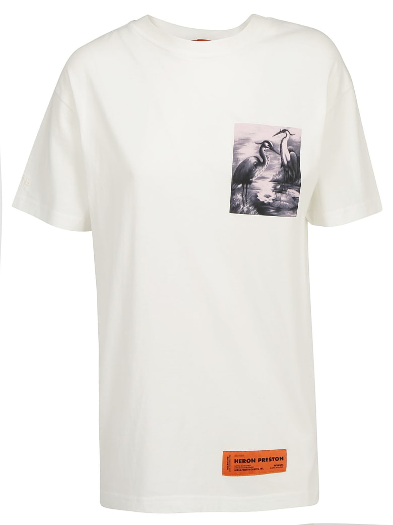 HERON PRESTON T-shirt - Off white