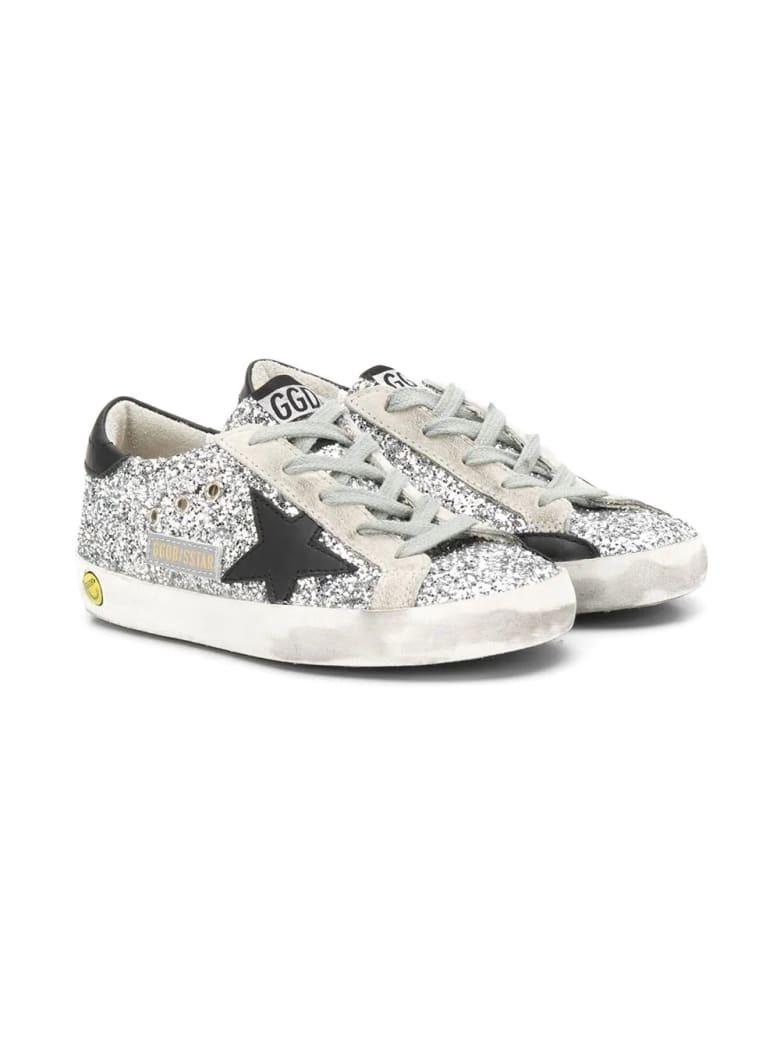 Golden Goose Golden Goose Kids Sneakers - Glitter-argento