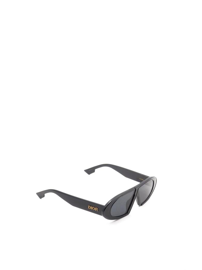 Christian Dior DIOROBLIQUE Sunglasses - K Black