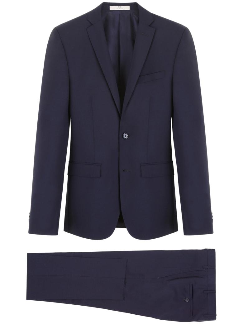CC Collection Corneliani Wool And Mohair Dress - BLU NAVY (Blue)