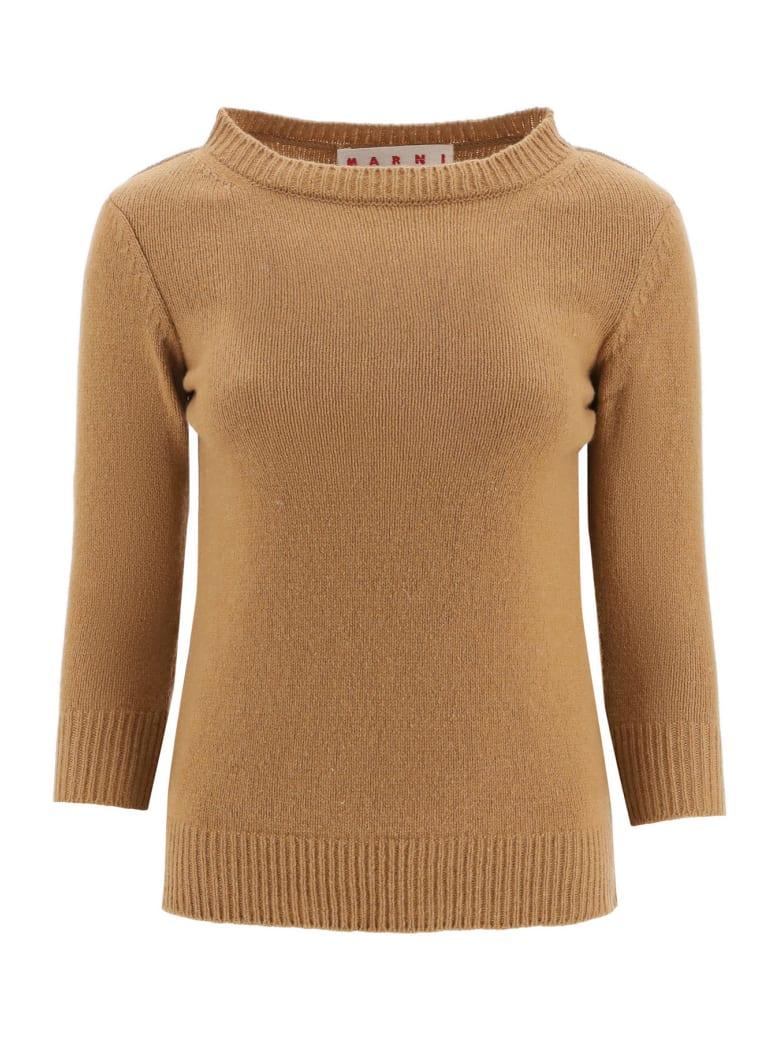 Marni Cashmere Sweater - HAZELNUT (Brown)
