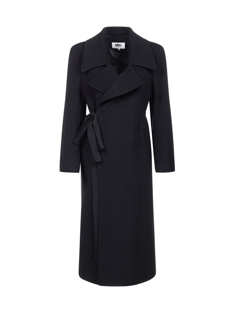 MM6 Maison Margiela Coat - Black